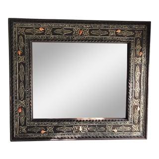 Vintage Moroccan Wall Mirror For Sale