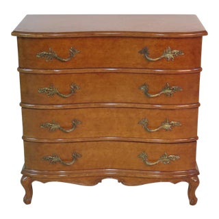 Louis XVI Burlwood Commode For Sale