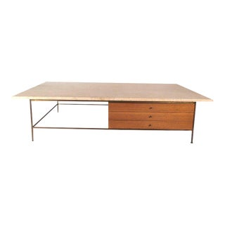 Mid-century Modern Paul Mccobb Marble-top Coffee Table For Sale
