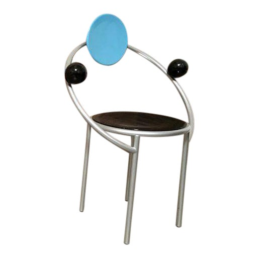 """""""First Chair"""" Michele De Lucchi for Memphis Chair For Sale"""