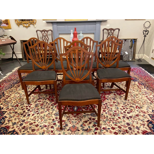 Irving & Casson Early 20th Century Irving & Casson Dining Chairs - Set of 8 For Sale - Image 4 of 13
