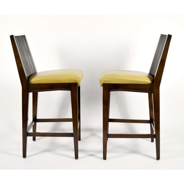 """2000 - 2009 """"Kenya"""" Counterheight Barstools by Axis - A Pair For Sale - Image 5 of 8"""