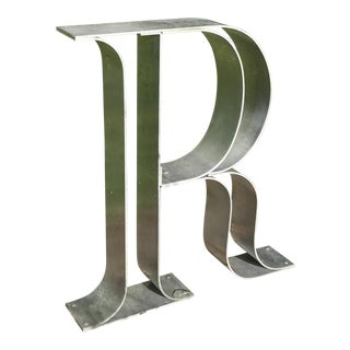 Stainless Steel Letter 'R'