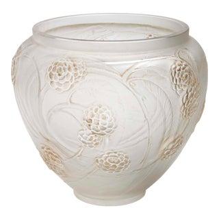 Vintage Mid Century Lalique Netfliers Vase For Sale