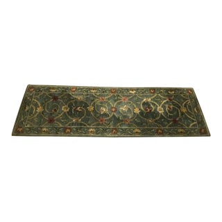 "Contemporary Wool Patterned Runner - 2'7"" x 7'11"""