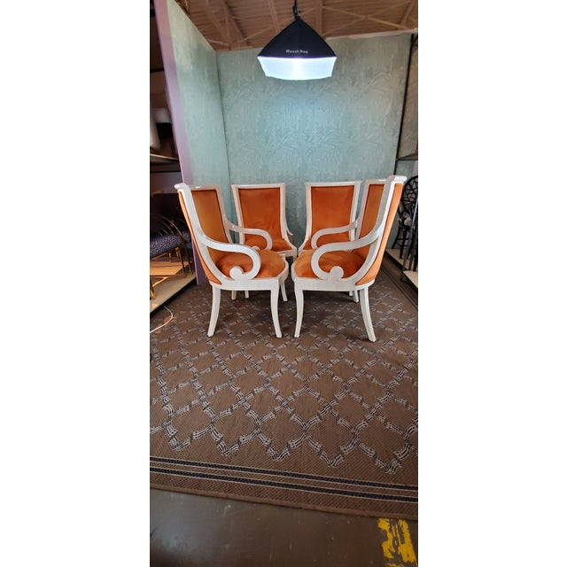 Mid-Century Modern 1980s Vintage Enrique Garcel Tiled Chairs- Set of 6 For Sale - Image 3 of 5