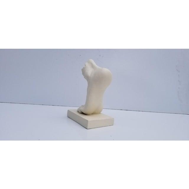 Vintage Art Modern Plaster Cast Foot Sculpture For Sale - Image 4 of 8