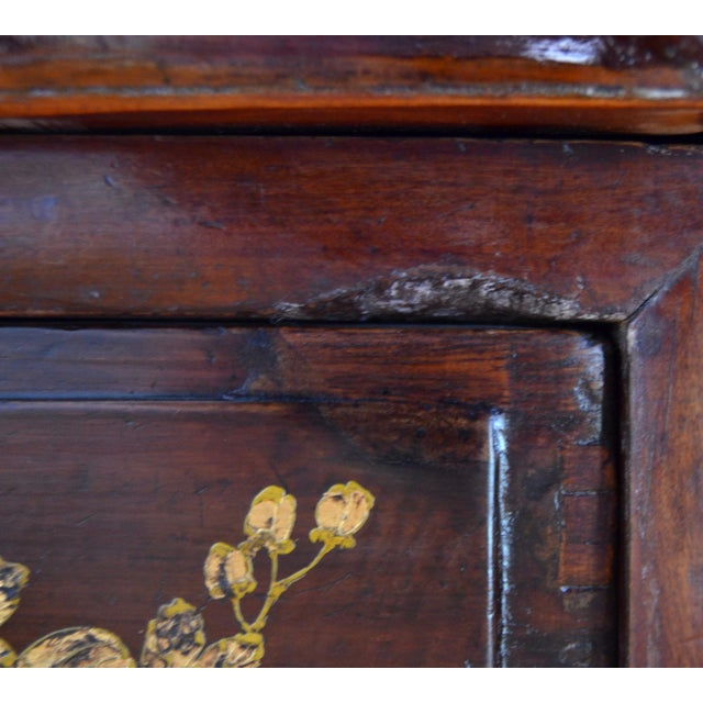 Exquisite Antique Chinese Qing Dynasty Cabinet For Sale - Image 12 of 12