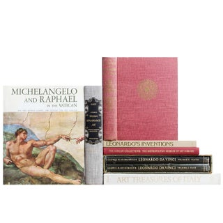 Vintage Renaissance Masters - Set of 8 For Sale