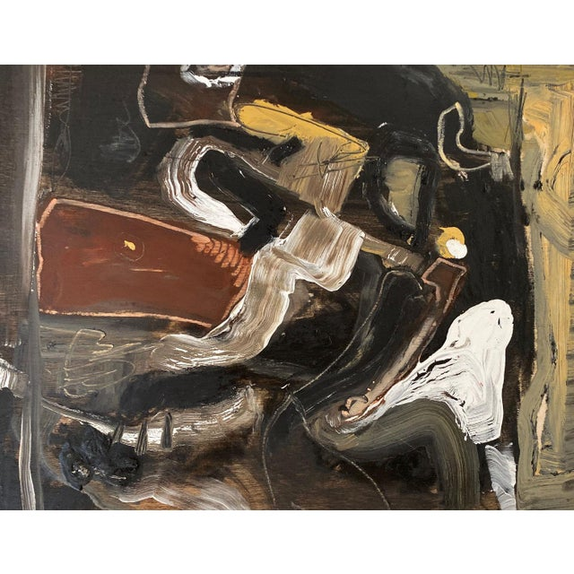2010s Contemporary Oil on Wood Abstract XIII by William McLure For Sale - Image 5 of 7