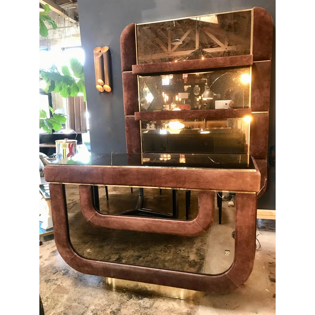 This cocktail bar is designed by Willy Rizzo in the 1970s. His cocktail and bar designs are among his most prolific and...