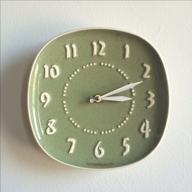 Russell Wright for GE Ceramic Clock - Image 2 of 7