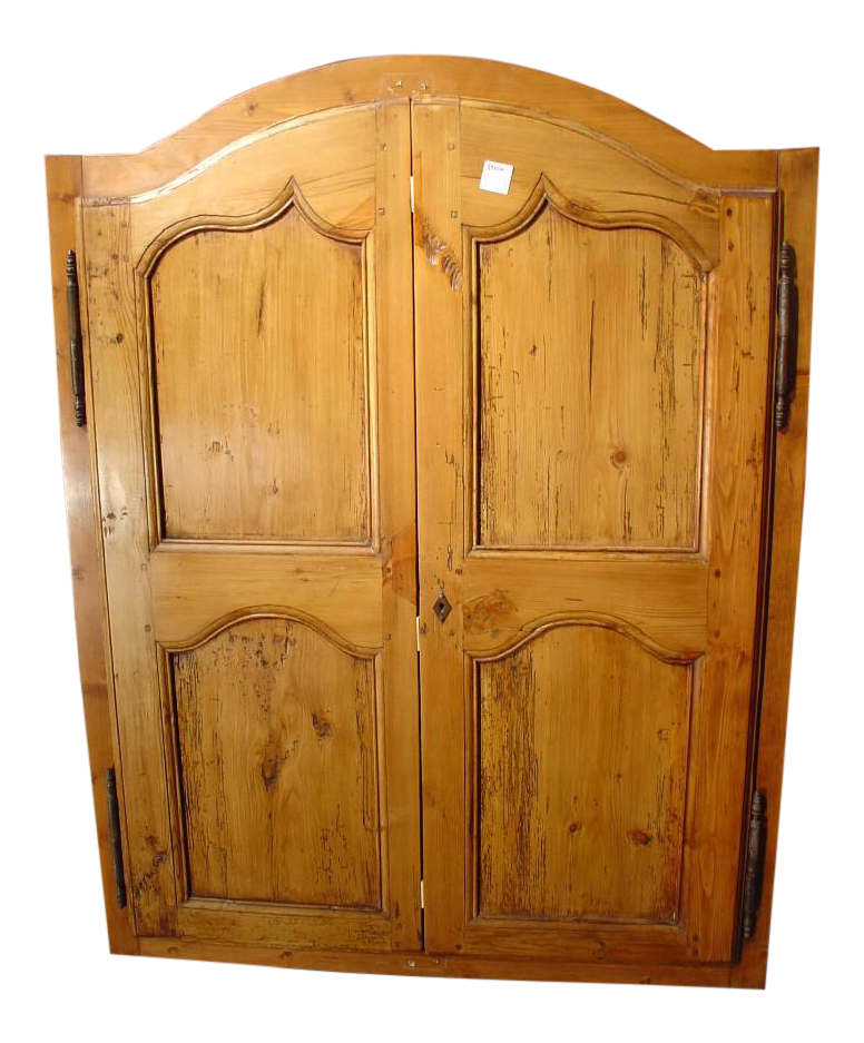 Late 1800u0027s Small French Cabinet Doors   A Pair