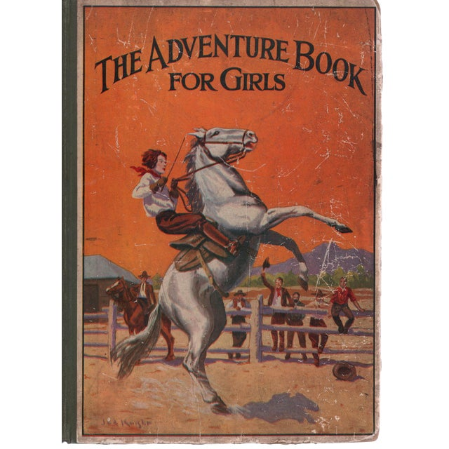 The Adventure Book For Girls For Sale