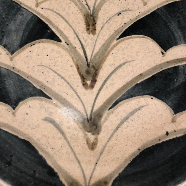 Contemporary 1970s Vintage Studio Pottery Platter For Sale - Image 3 of 13