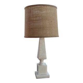 1970s Italian Alabaster Table Lamp