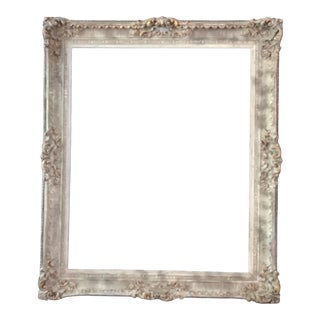 """Large Antique French Style Frame 44"""" X 55"""" + For Sale"""