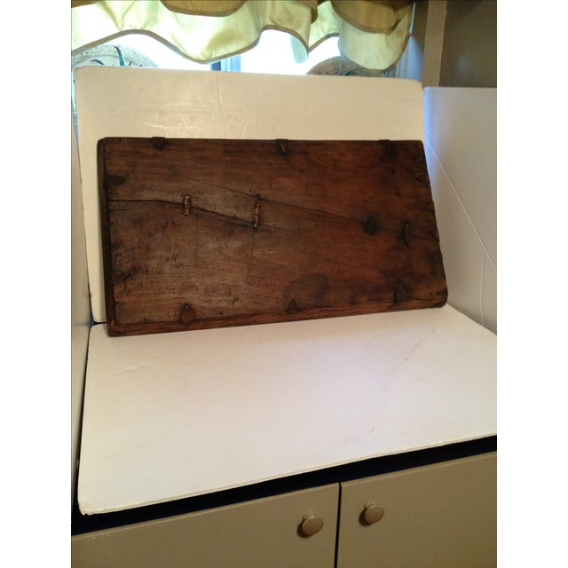 Rustic Antique Wood Bread Tray For Sale - Image 3 of 5