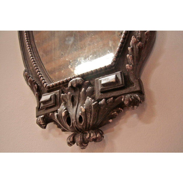 Pair of Italian 19th Century Mirrors For Sale - Image 9 of 10
