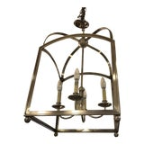 Image of New Visual Comfort Arched Foyer Pendant by e.f. Chapman For Sale