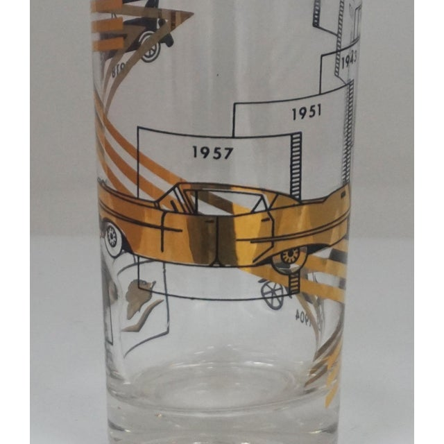 Mid-Century Modern Cadillac Cocktail Glasses For Sale - Image 3 of 7