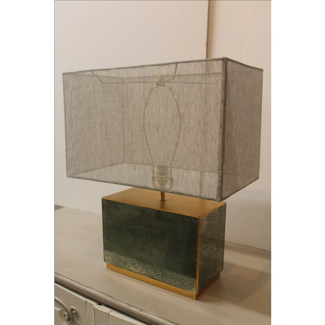Jade Table Lamp - Image 3 of 6