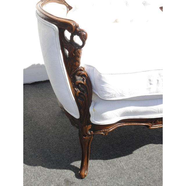 White French Rococo Ornate Chair For Sale - Image 11 of 11