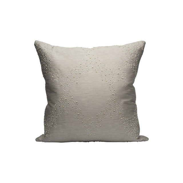 Traditional Pearlescence Pillow, Pearl For Sale - Image 3 of 3