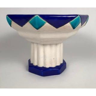 Boch Freres Art Deco Period Ceramic Compote Preview