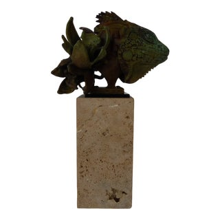 Theodore Gall Metamorphic Bronze Sculpture For Sale