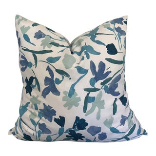 Domino Magazine Edition Gauguin Floral Pillow Cover For Sale