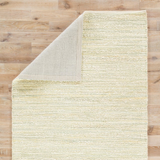 "Jaipur Living Canterbury Natural Stripe White & Green Area Rug - 2'6"" X 4' For Sale - Image 4 of 6"