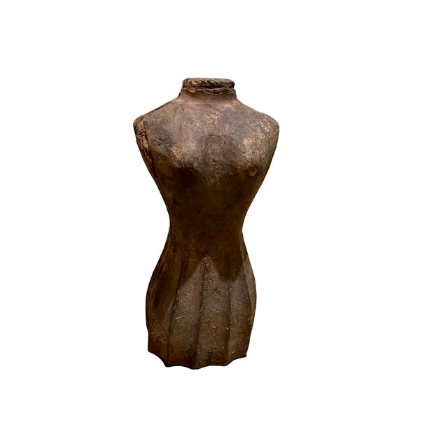 19th Century Small Antique French Dress Form For Sale - Image 5 of 5