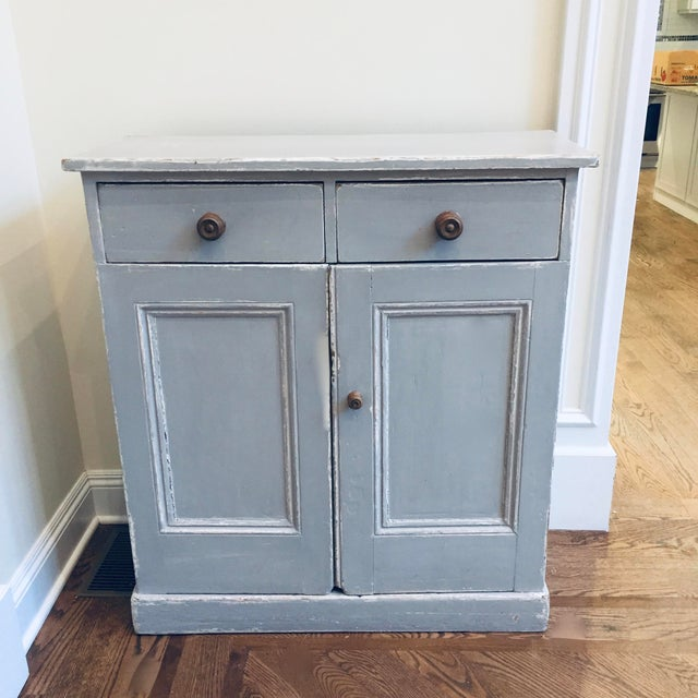 1930s 1930s Vintage Rustic Cupboard For Sale - Image 5 of 5