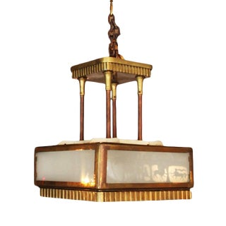 Light - Art Deco Style Pendant Light For Sale