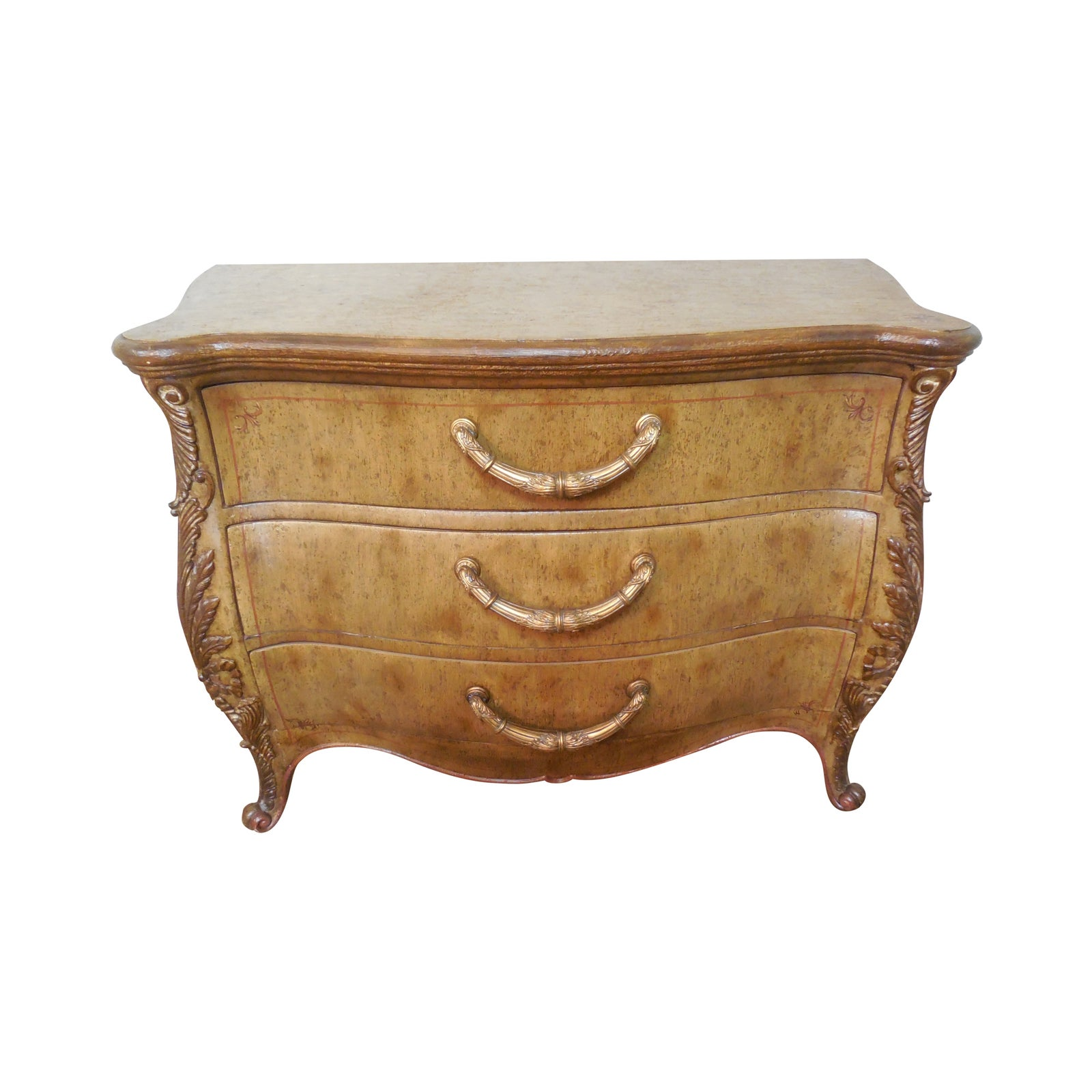 The Platt Collections Louis Xv Hand Crafted Chest Chairish