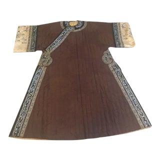 Antique Silk Chinese Coat