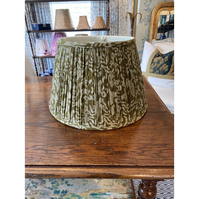 Custom Maison Maison gathered empire lampshade in Maison Maison Textiles. We can make any custom lampshade of any size and...