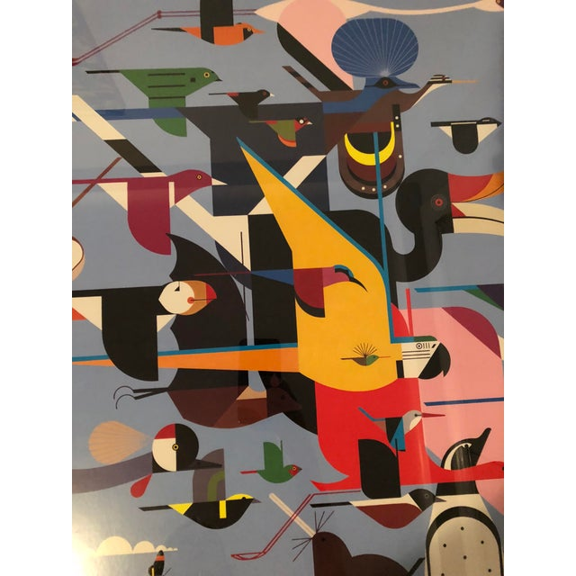 """Charley Harper Framed """"Wings of the World"""" Print - Image 5 of 7"""