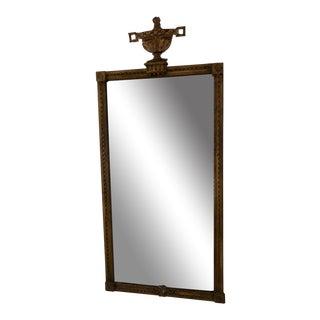 Antique 18th C Italian Giltwood Mirror For Sale