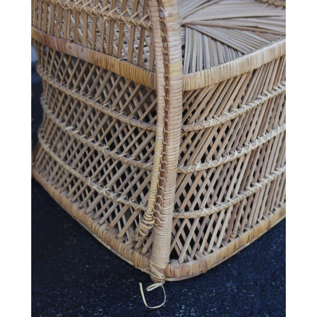 Vintage Rattan Porter Chair - Image 7 of 9