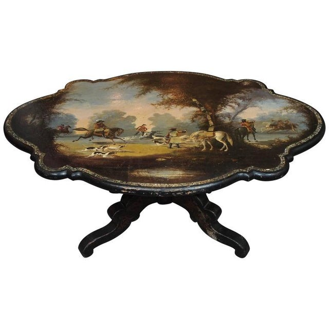 Antique English Victorian Coffee Table - Image 11 of 11
