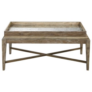 Tray Top Coffee Table For Sale