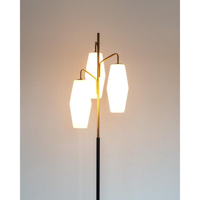 Mid-Century Modern Elegant Floor Lamp by Stilnovo, Italy, 1960s For Sale - Image 3 of 9