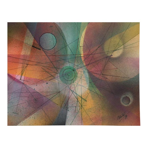 Color Collection Series Painting by Arturo Potestad For Sale