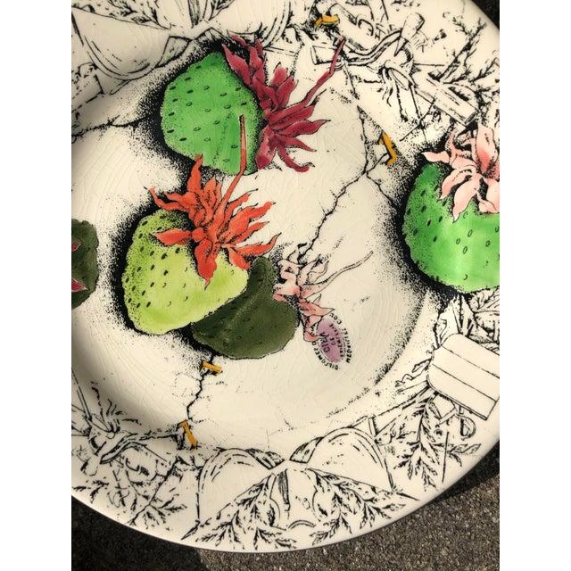 Gien Vintage French Gien Strawberry Plates For Sale - Image 4 of 6