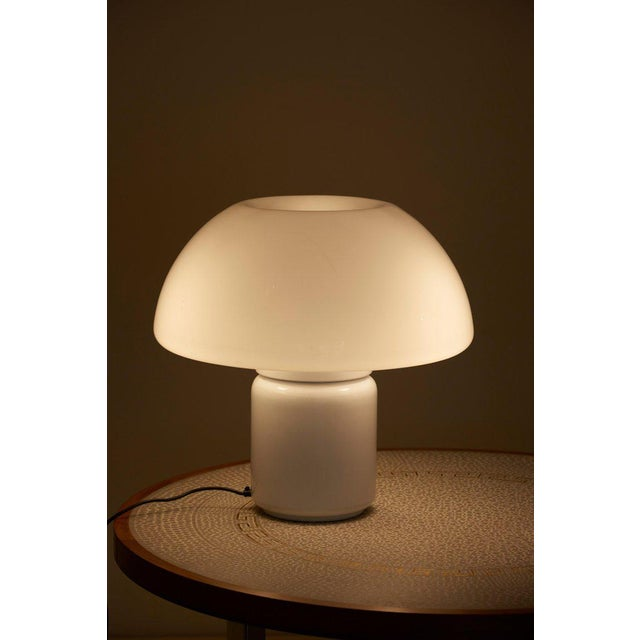 1970s Mushroom Table Lamp Mod. 625 by Elio Martinelli for Martinelli Luce, Italy For Sale - Image 5 of 11