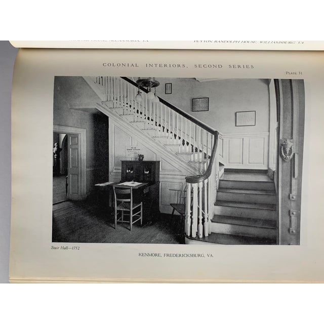 Colonial Interiors Hardcover Book For Sale - Image 9 of 13