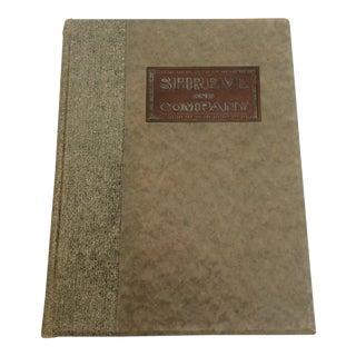 Shreve & Company Bronze Plaque Catalog Book