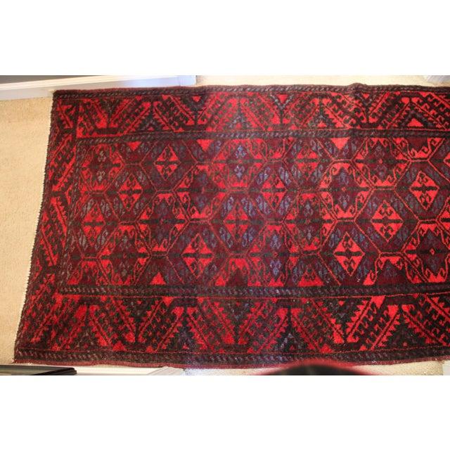 "Antique Arak Wool Area Rug - 3'5"" x 6'8"" For Sale - Image 4 of 9"